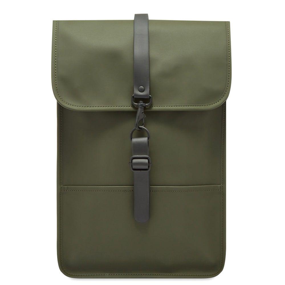 レインズ Rains メンズ バックパック・リュック バッグ【Backpack Mini】Green