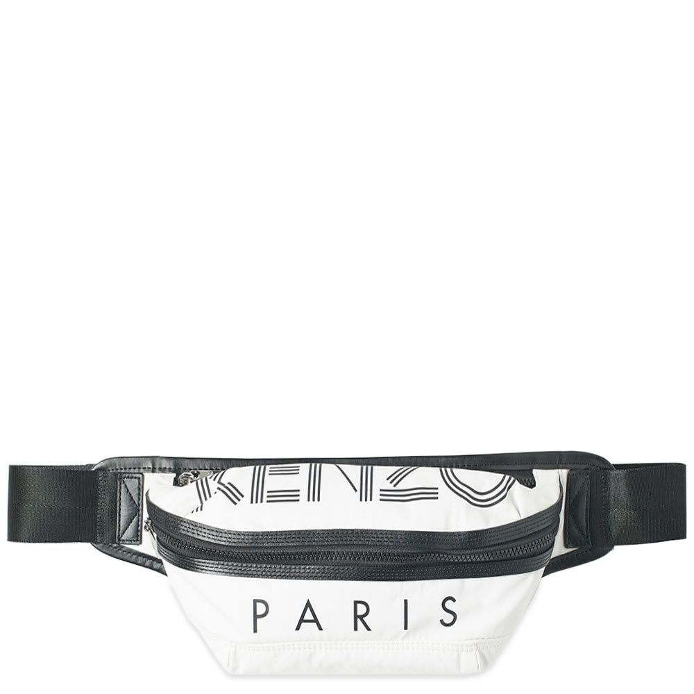 ケンゾー Kenzo メンズ ボディバッグ・ウエストポーチ バッグ【Paris Sport Logo Waist Bag】Off White