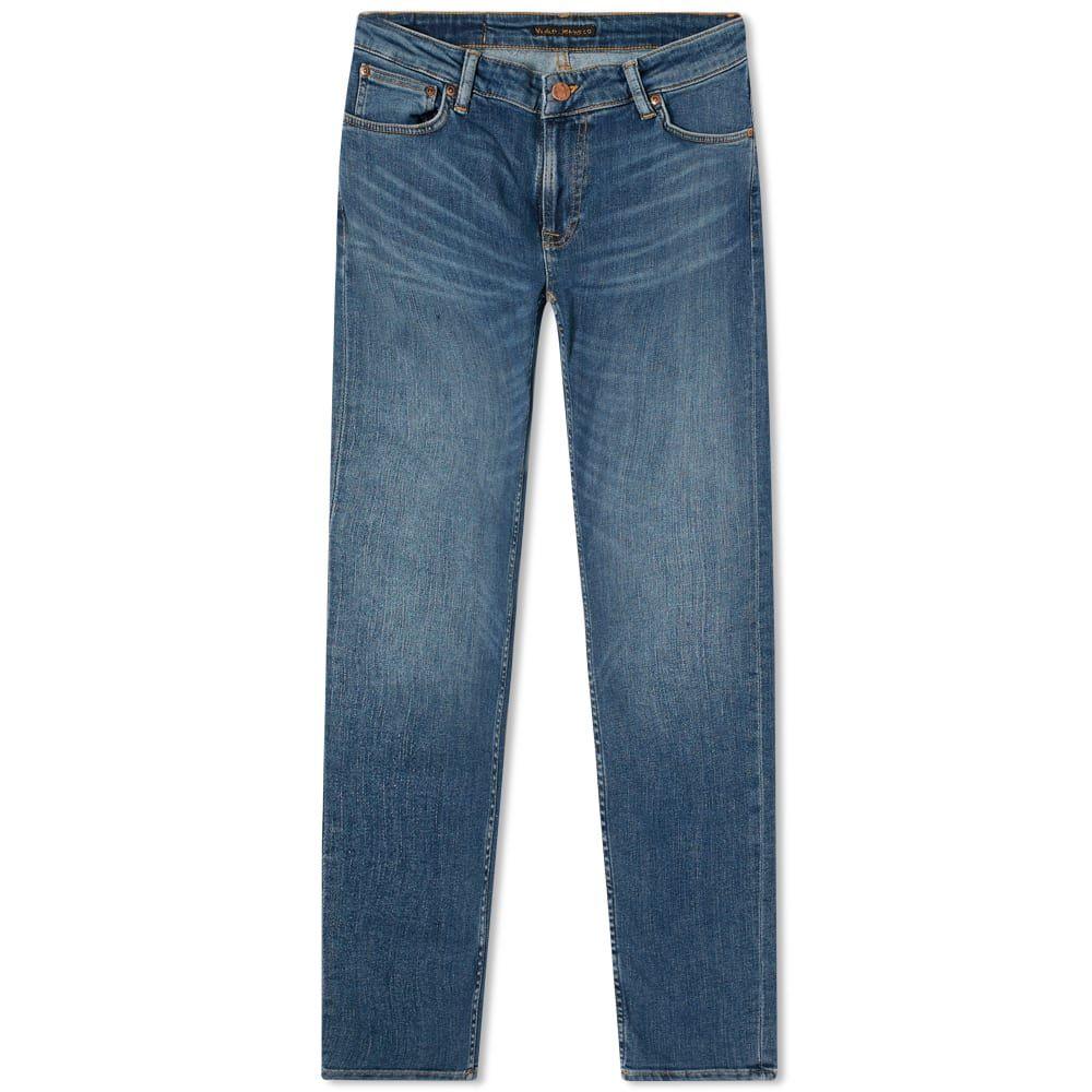 ヌーディージーンズ Nudie Jeans Co メンズ ジーンズ・デニム ボトムス・パンツ【Nudie Skinny Lin Jean】Dark Blue Navy