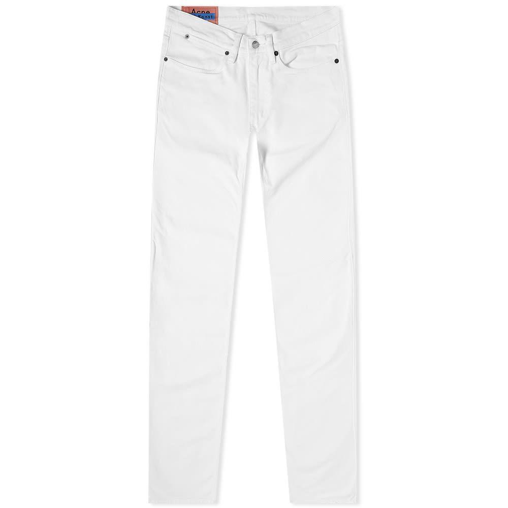 アクネ ストゥディオズ Acne Studios メンズ ジーンズ・デニム ボトムス・パンツ【Max Slim Fit Jean】White