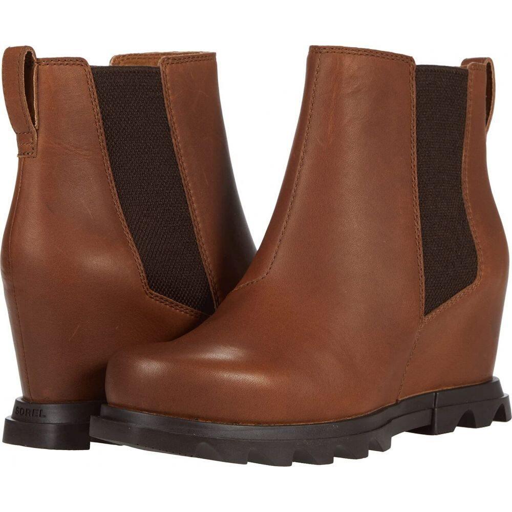 ソレル レディース シューズ 靴 ブーツ Hazelnut Blackened Brown サイズ交換無料 売れ筋 Arctic 購入 Chelsea III Joan of Wedge SOREL TM ウェッジソール