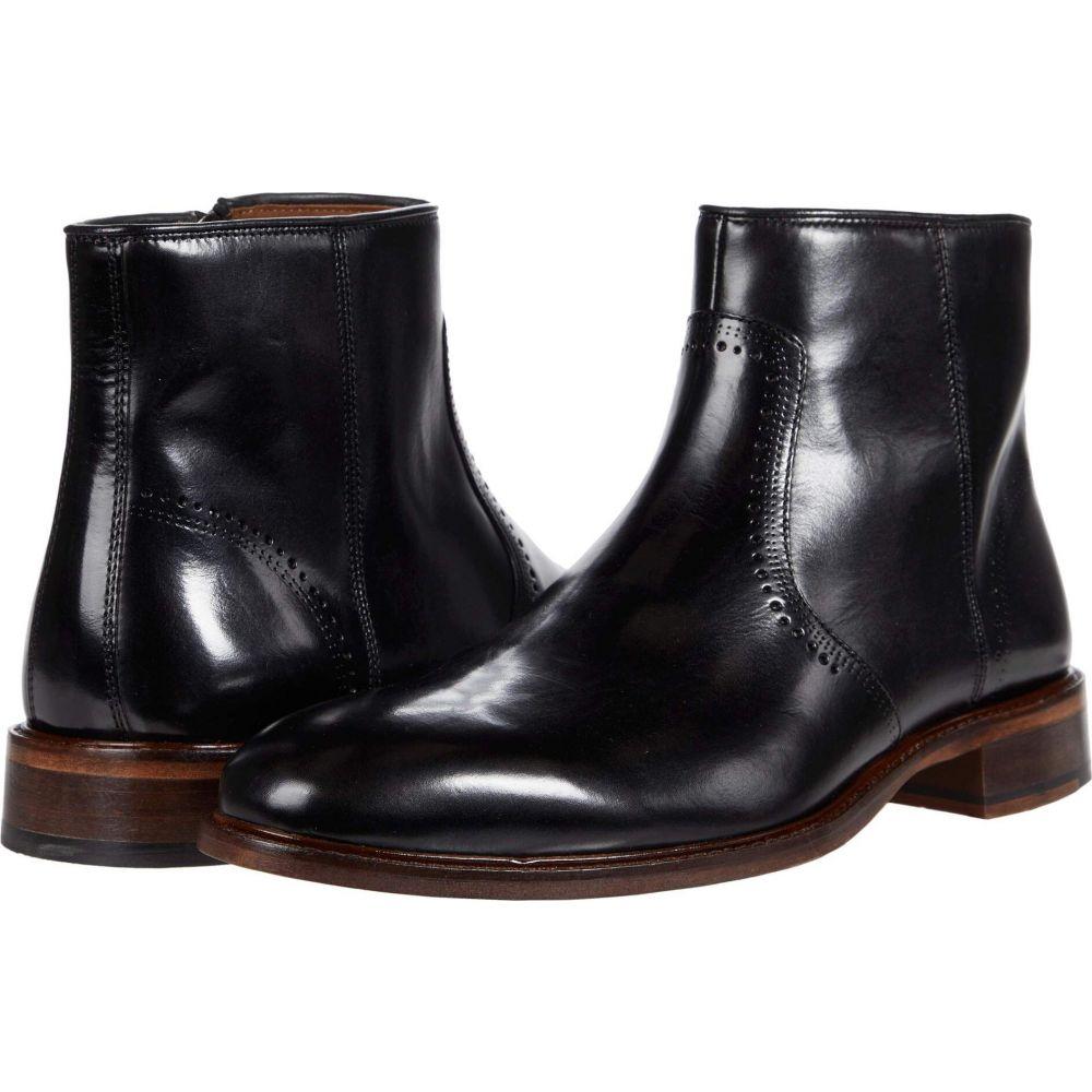 人気商品 ジョンストン&マーフィー Italian Johnston & Calfskin Zip Murphy メンズ ブーツ シューズ・靴【Sayer Plain Toe Zip Boot】Black Italian Calfskin, オーダー自家焙煎 芭蕉珈琲:3fbeba11 --- rishitms.com