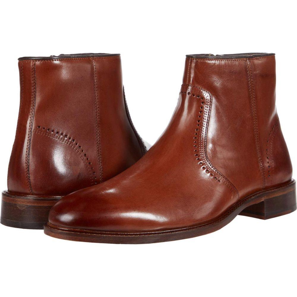 【★超目玉】 ジョンストン&マーフィー Johnston Zip ブーツ & Murphy Calfskin メンズ ブーツ シューズ・靴【Sayer Plain Toe Zip Boot】Tan Italian Calfskin, hono(照明インテリア雑貨):04a757a5 --- rishitms.com