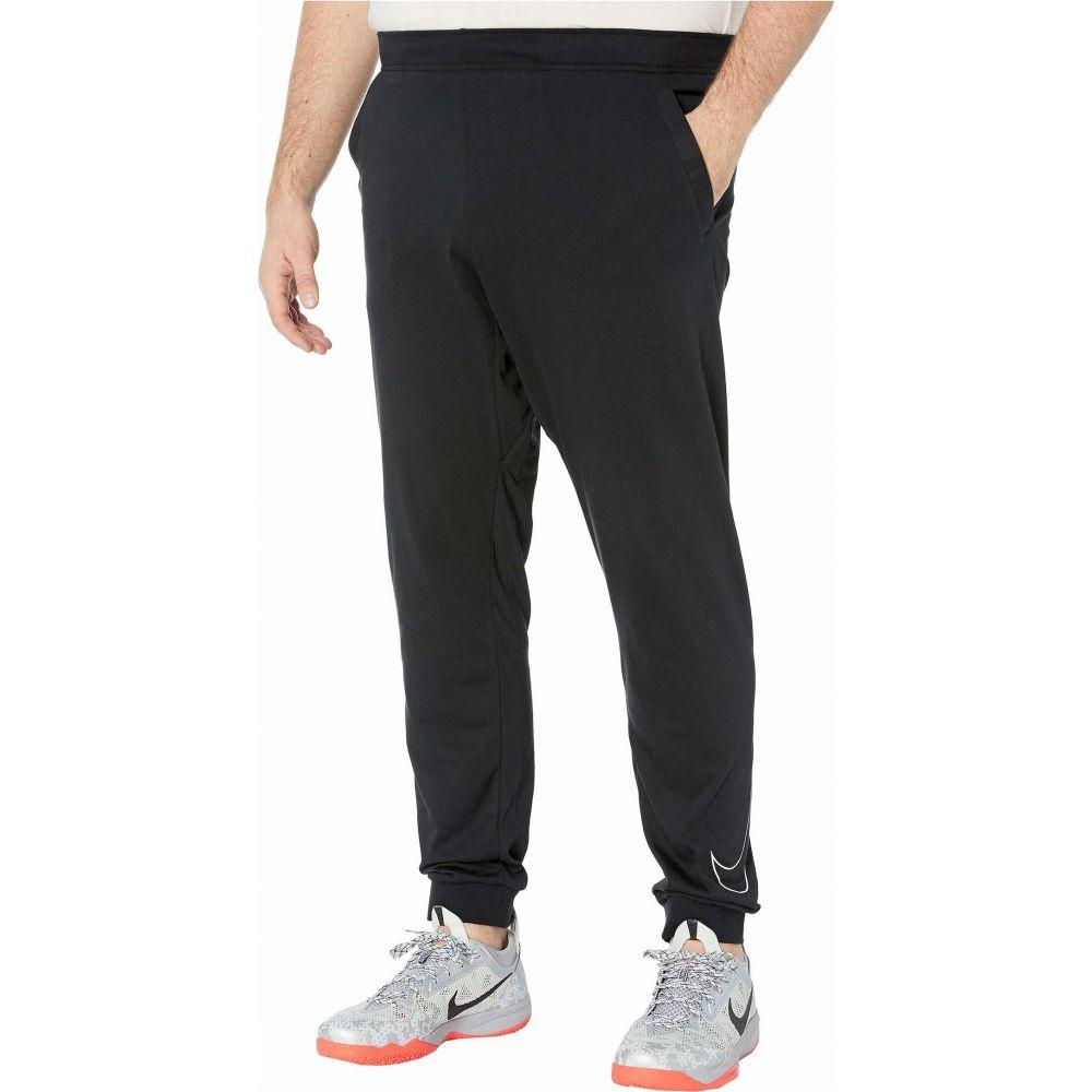 メンズ ナイキ Pants】Black/White Dri-FIT(TM) Nike & Tall Cotton ドライフィット【Big 大きいサイズ ボトムス・パンツ