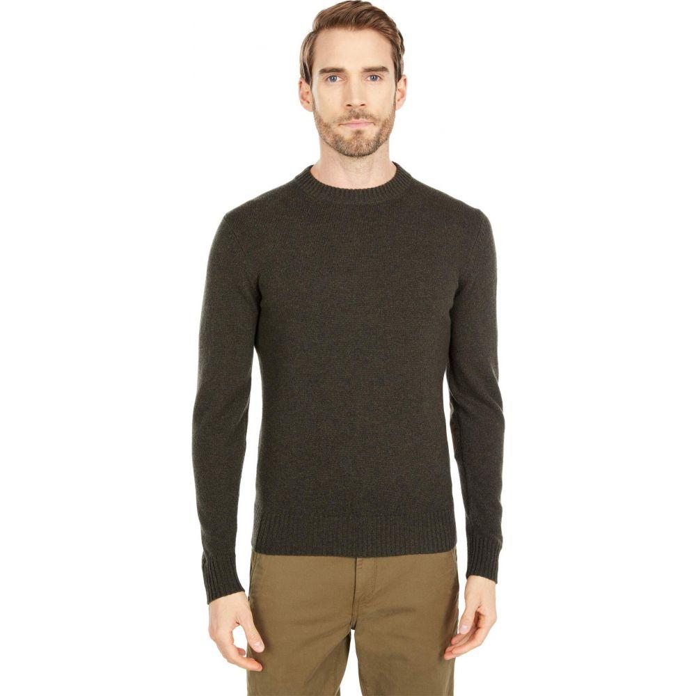 フェールラーベン メンズ トップス お金を節約 ニット セーター Dark Fjallraven サイズ交換無料 Round-Neck Sweater Olive 商店 Ovik