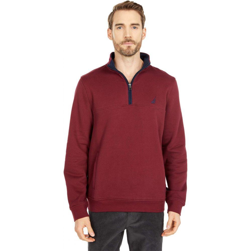 ノーティカ メンズ トップス 予約販売品 ニット セーター Zinfandel サイズ交換無料 Knit 4 Zip Nautica 1 倉 Sweater