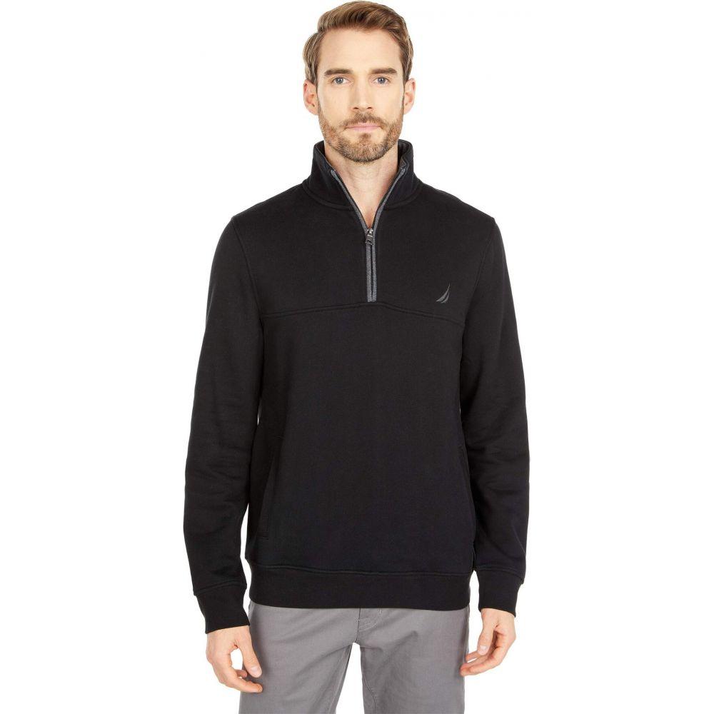 ノーティカ 豪華な メンズ トップス ニット セーター True Black 4 サイズ交換無料 Knit Nautica Sweater Zip ※ラッピング ※ 1