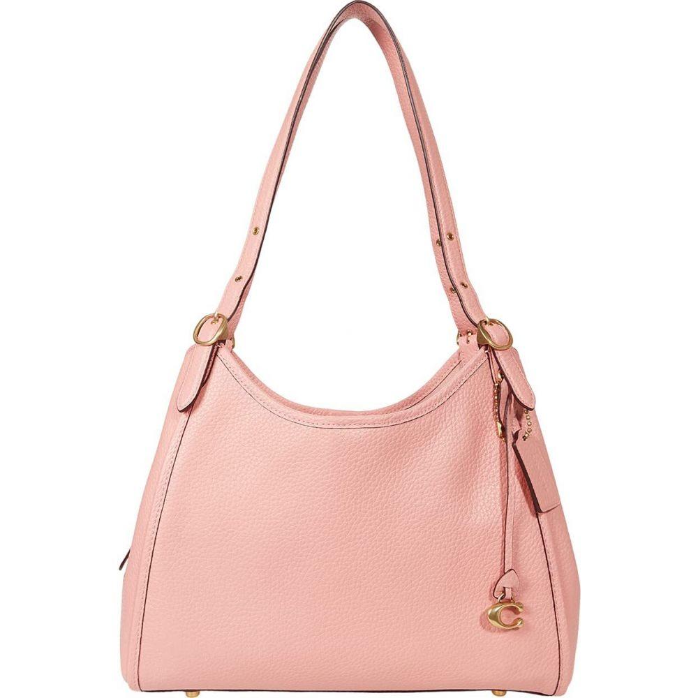コーチ COACH レディース ショルダーバッグ バッグ【Soft Pebble Leather Lori Shoulder Bag】Candy Pink