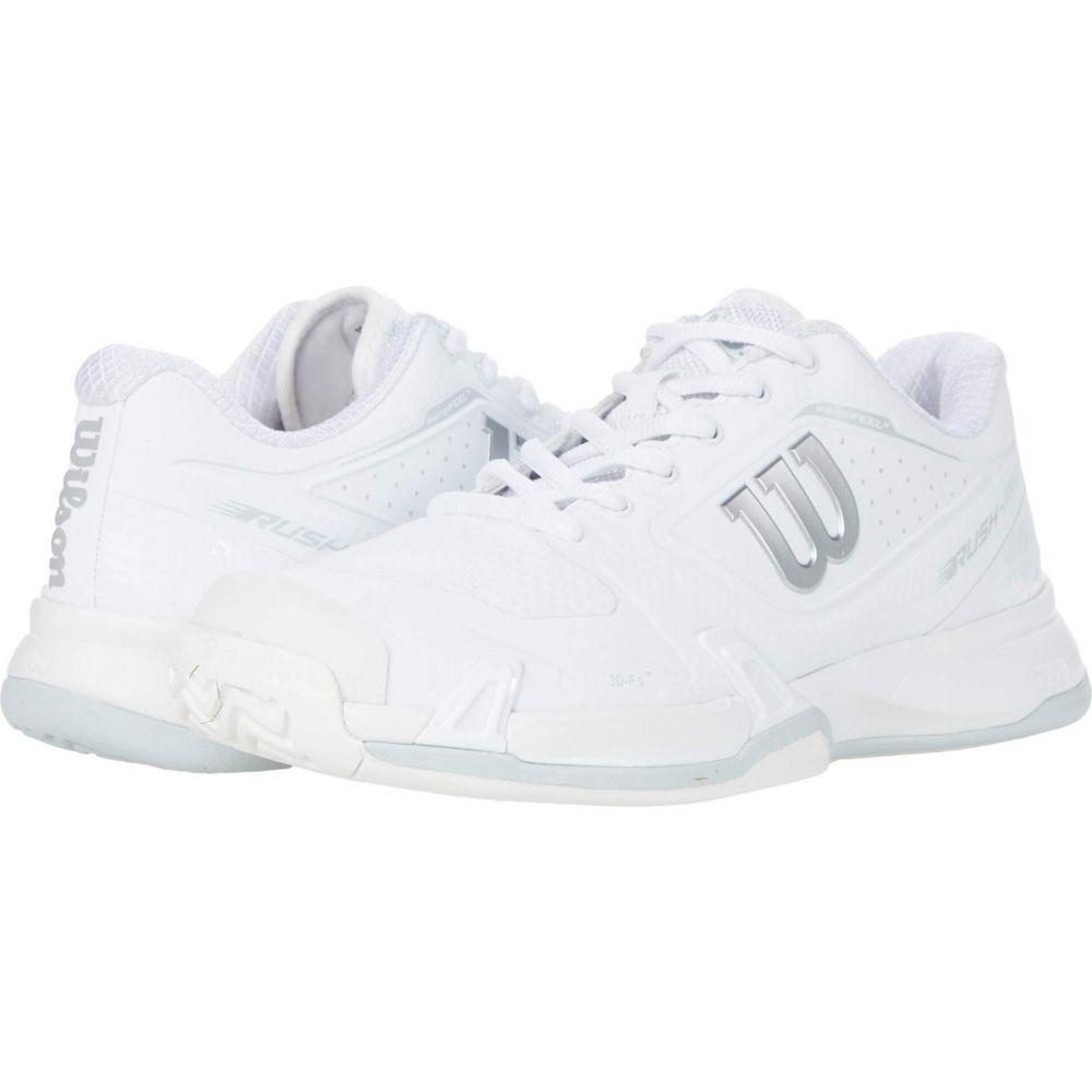 祝開店大放出セール開催中 ウィルソン レディース テニス シューズ 靴 White Pearl 2.5 贈答品 Pro サイズ交換無料 Wilson Rush Blue