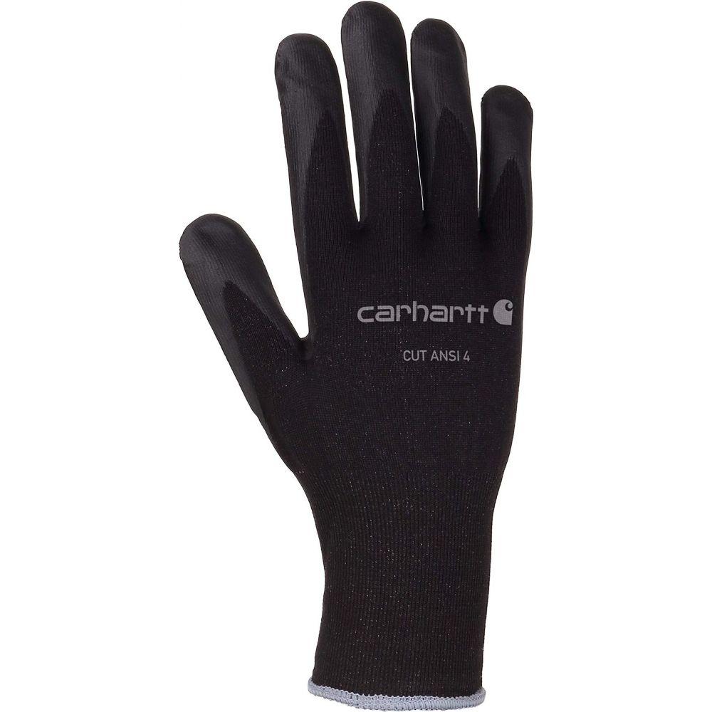 カーハート メンズ ファッション小物 手袋 国内正規総代理店アイテム グローブ Black 4 Cut Ansi Carhartt サイズ交換無料 超激得SALE Glove