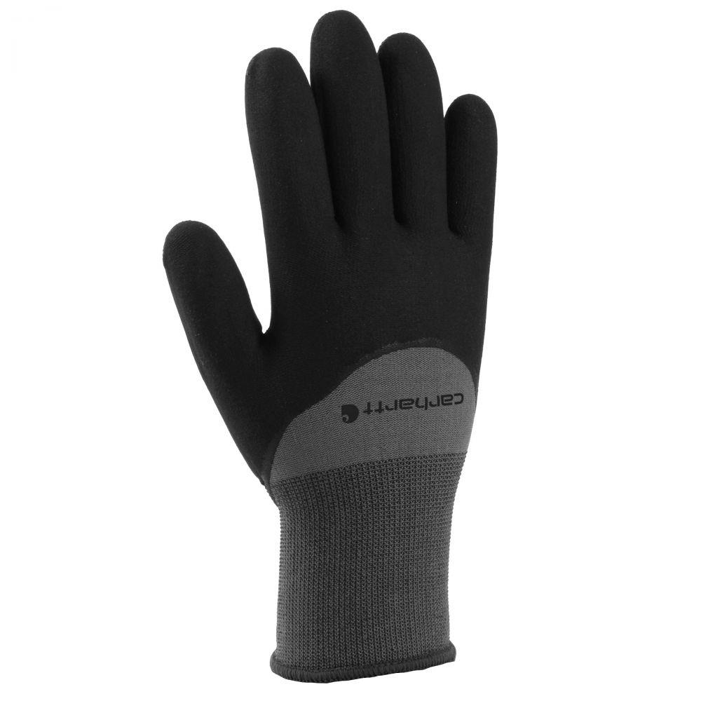 カーハート メンズ ファッション小物 送料無料 手袋 グローブ Gray Dip Glove Thermal サイズ交換無料 国内正規品 Carhartt