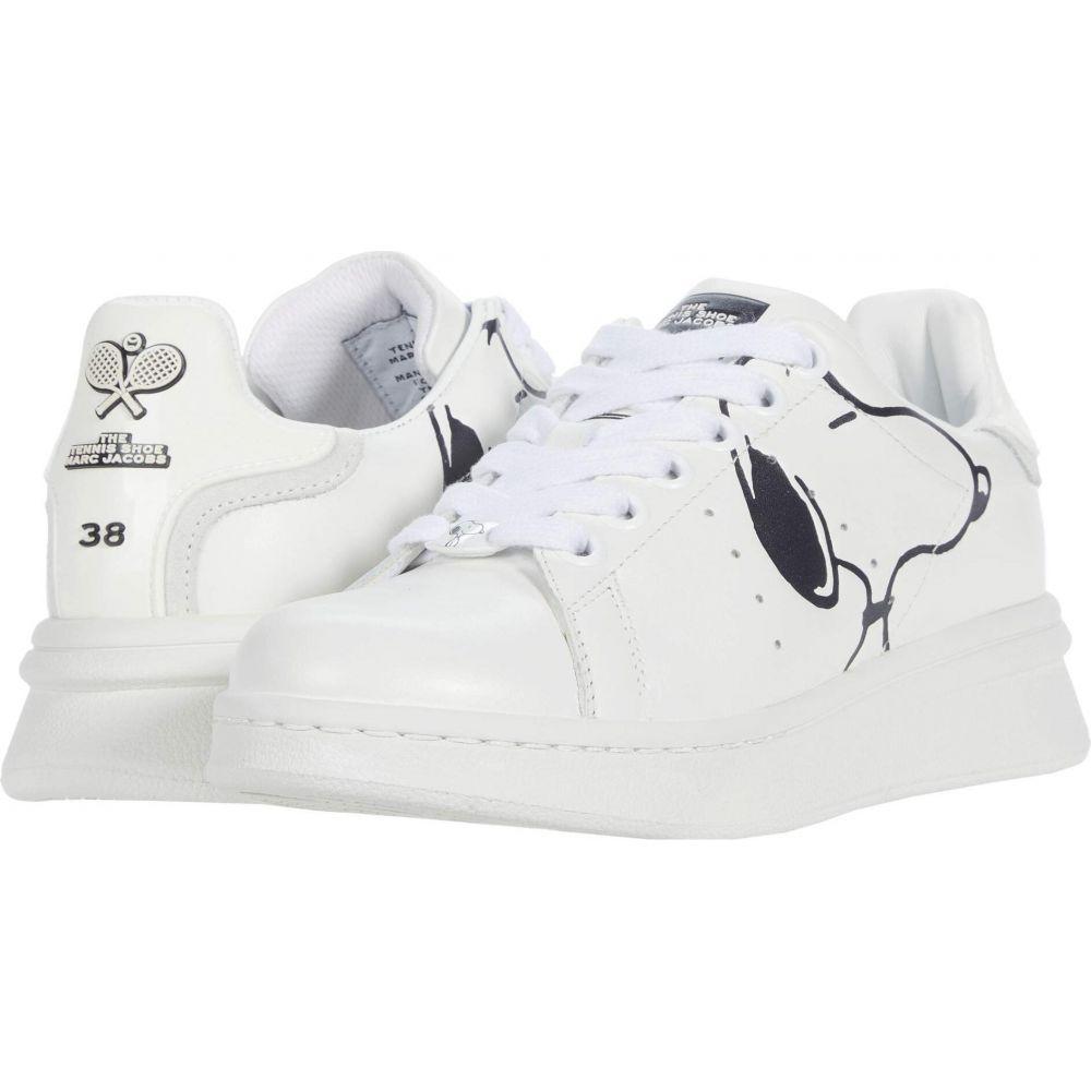 マーク ジェイコブス レディース テニス シューズ 靴 White 贈答 サイズ交換無料 X The Jacobs Shoe Tennis 新作通販 Peanuts Marc