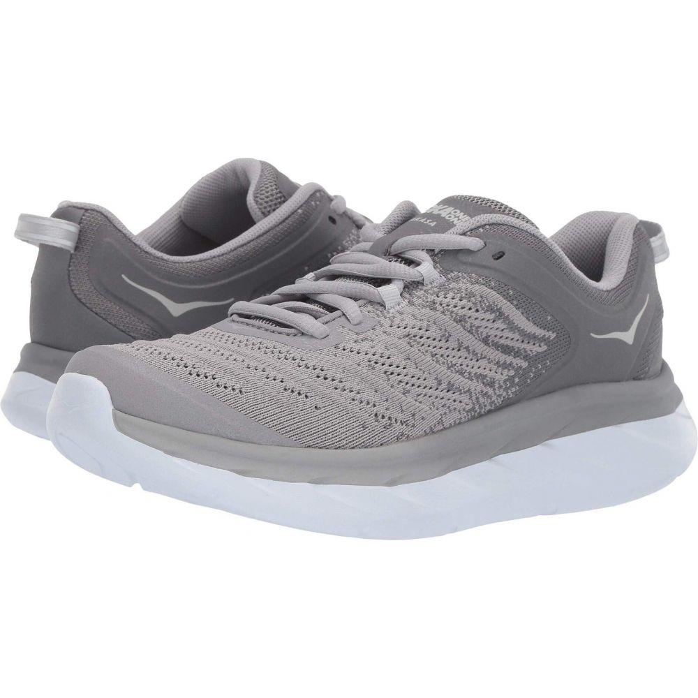ホカ オネオネ レディース ランニング・ウォーキング シューズ・靴 Frost Gray/Silver Sconce 【サイズ交換無料】 ホカ オネオネ Hoka One One レディース ランニング・ウォーキング シューズ・靴【Akasa】Frost Gray/Silver Sconce