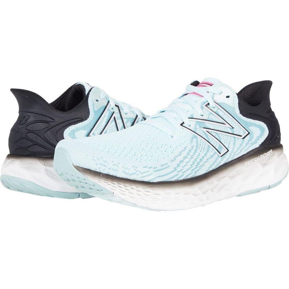 ニューバランス レディース ランニング・ウォーキング シューズ・靴 Pale Blue Chill/Black 【サイズ交換無料】 ニューバランス New Balance レディース ランニング・ウォーキング シューズ・靴【Fresh Foam 1080v11】Pale Blue Chill/Black