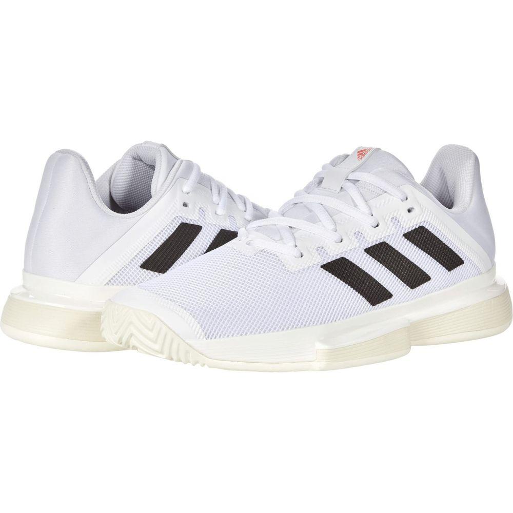 アディダス レディース テニス シューズ 靴 White 信託 激安超特価 Black サイズ交換無料 Bounce Solar Red SoleMatch adidas