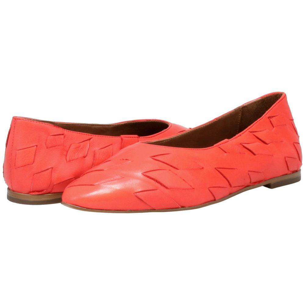 ミズムーズ レディース シューズ・靴 スリッポン・フラット Red 【サイズ交換無料】 ミズムーズ Miz Mooz レディース スリッポン・フラット シューズ・靴【Veer】Red