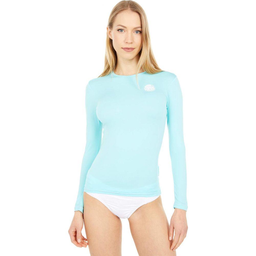 リップカール レディース 水着 ビーチウェア ラッシュガード Blue サイズ交換無料 年中無休 Tide Curl Long 評価 UV Rip Sleeve