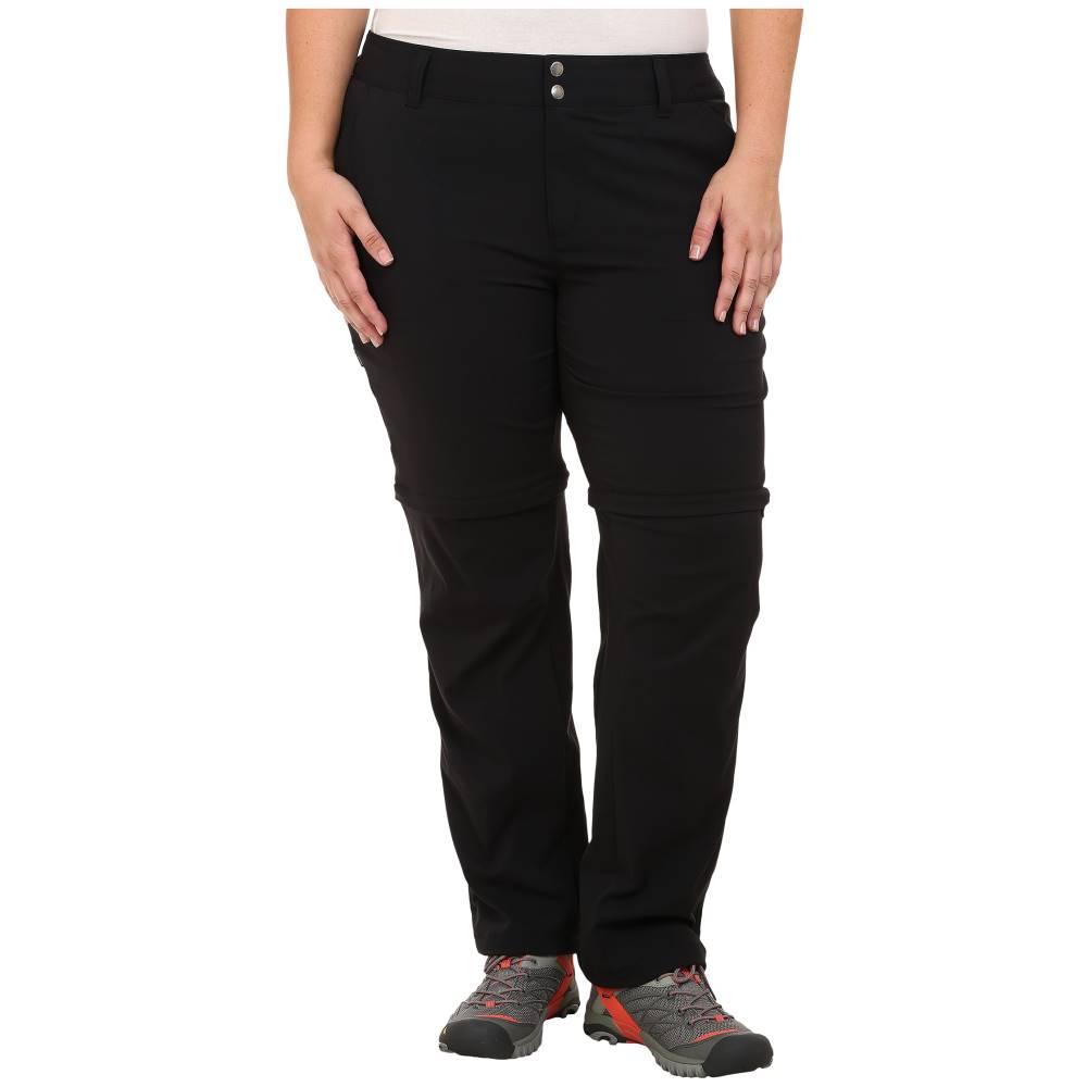 コロンビア レディース ボトムス・パンツ【Plus Size Saturday Trail' II Convertible Pant】Black