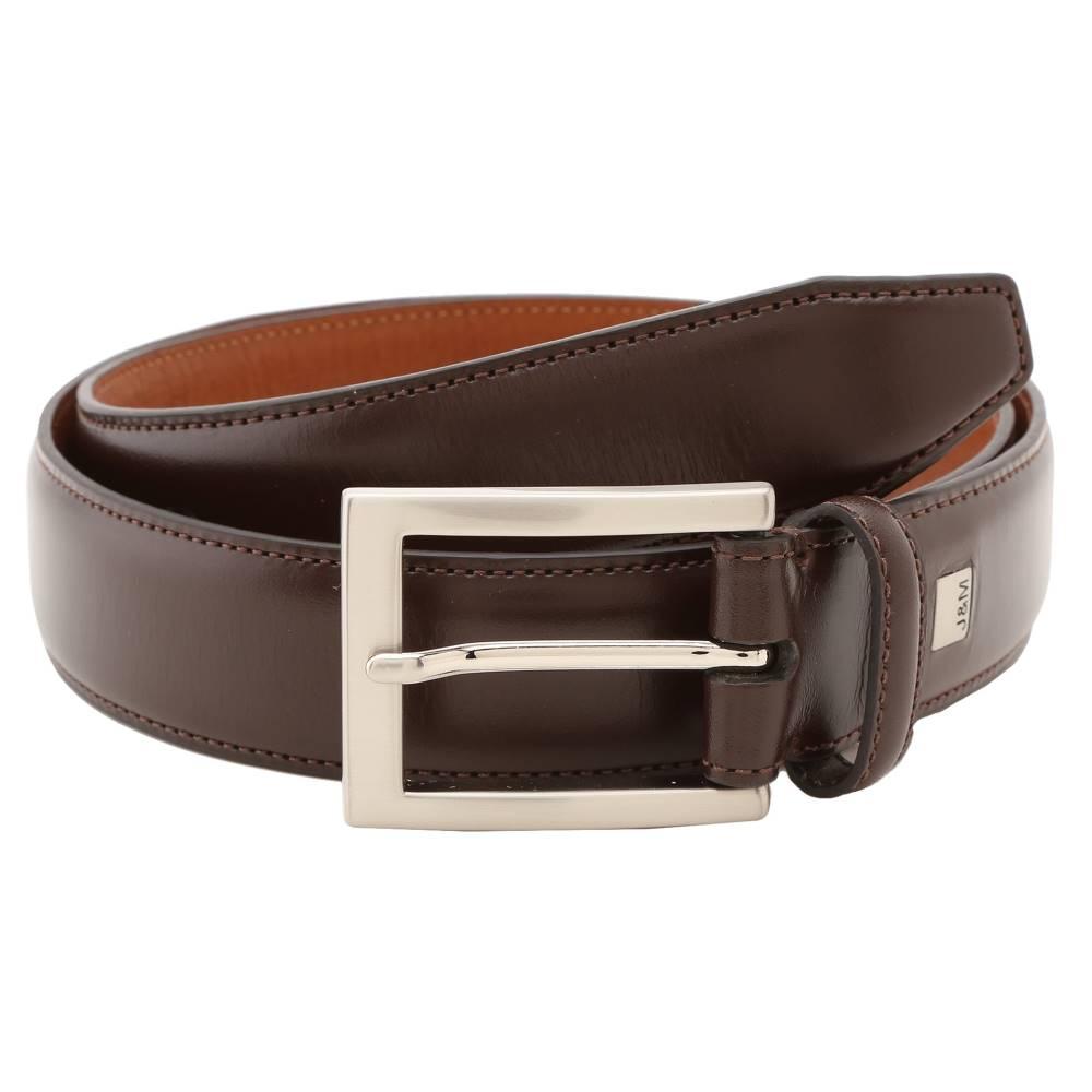 ジョンストン&マーフィー メンズ ファッション小物 ベルト【Johnston & Murphy Dress Belt】Dark Brown