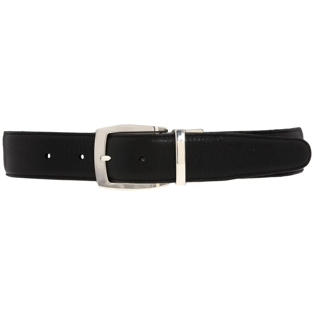 ブライトン メンズ ファッション小物 ベルト【Jefferson Reversible Belt】Black/Espresso