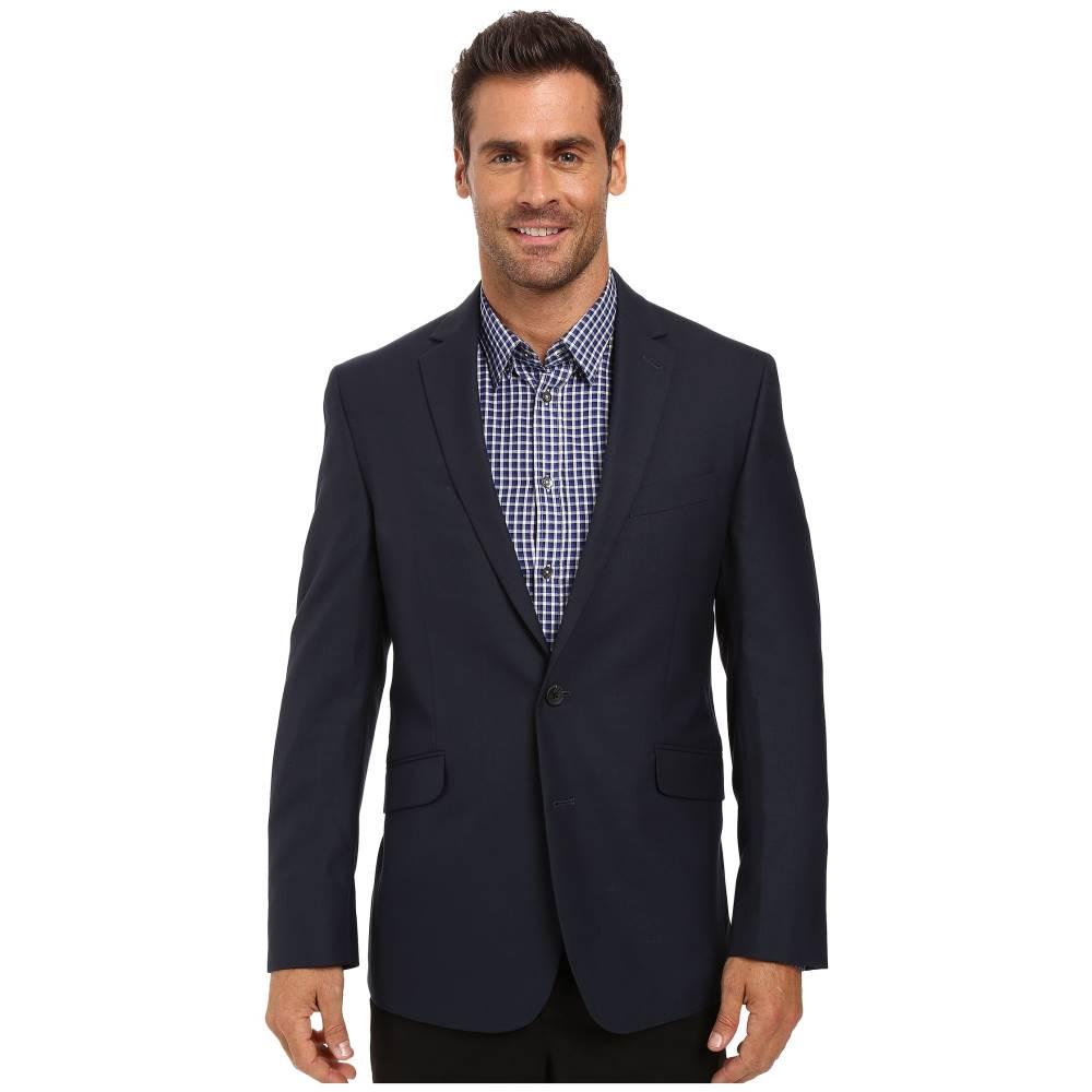 ケネスコール メンズ アウター コート【Slim Fit Separate Coat】Blue