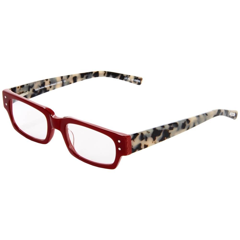 アイボブス レディース ファッション小物 メガネ・サングラス【Peckerhead Readers】Red/Black/White Tortoise