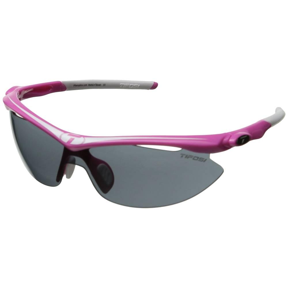 ティフォージ メンズ ファッション小物 スポーツサングラス【Slip' Interchangeable 2011】Neon Pink/Smoke/AC Red/Clear Lens