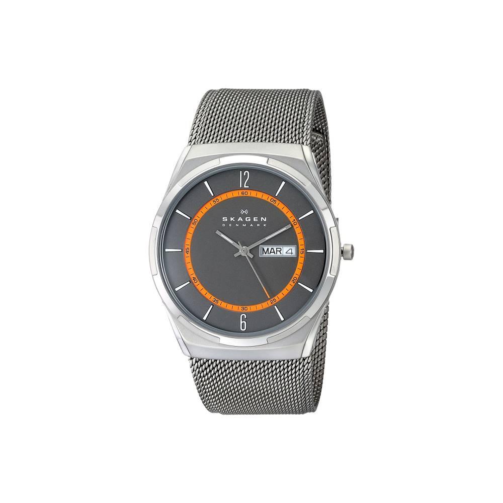スカーゲン メンズ 財布・時計・雑貨 腕時計【SKW6007 Aktiv Mesh Titanium Watch】Grey