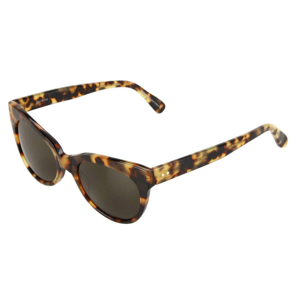 ノーマカマリ レディース ファッション小物 メガネ・サングラス【Square Cat Eye Sunglasses】Tokyo Tort/Green