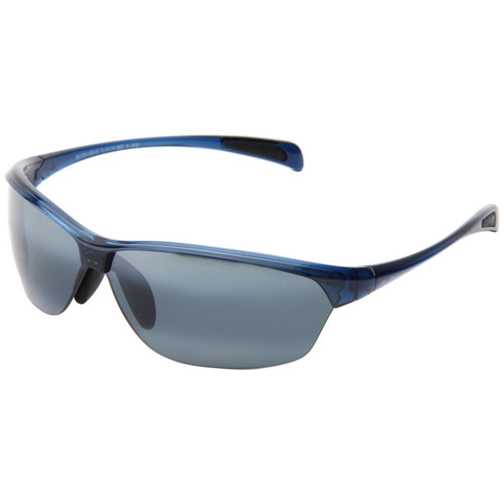 マウイジム メンズ ファッション小物 スポーツサングラス【Hot Sands】Blue/Neutral Grey