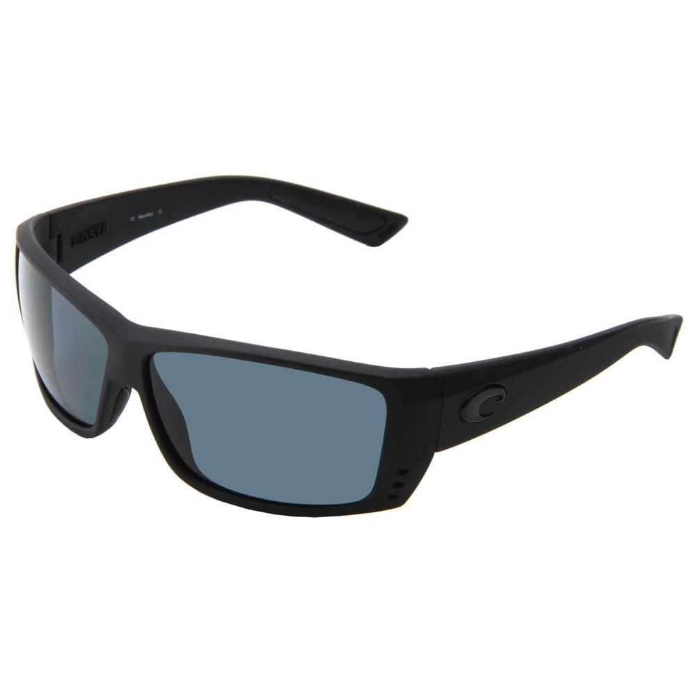 コスタ メンズ ファッション小物 スポーツサングラス【Cat Cay 580 Plastic】Black Out/Gray 580 Plastic Lens