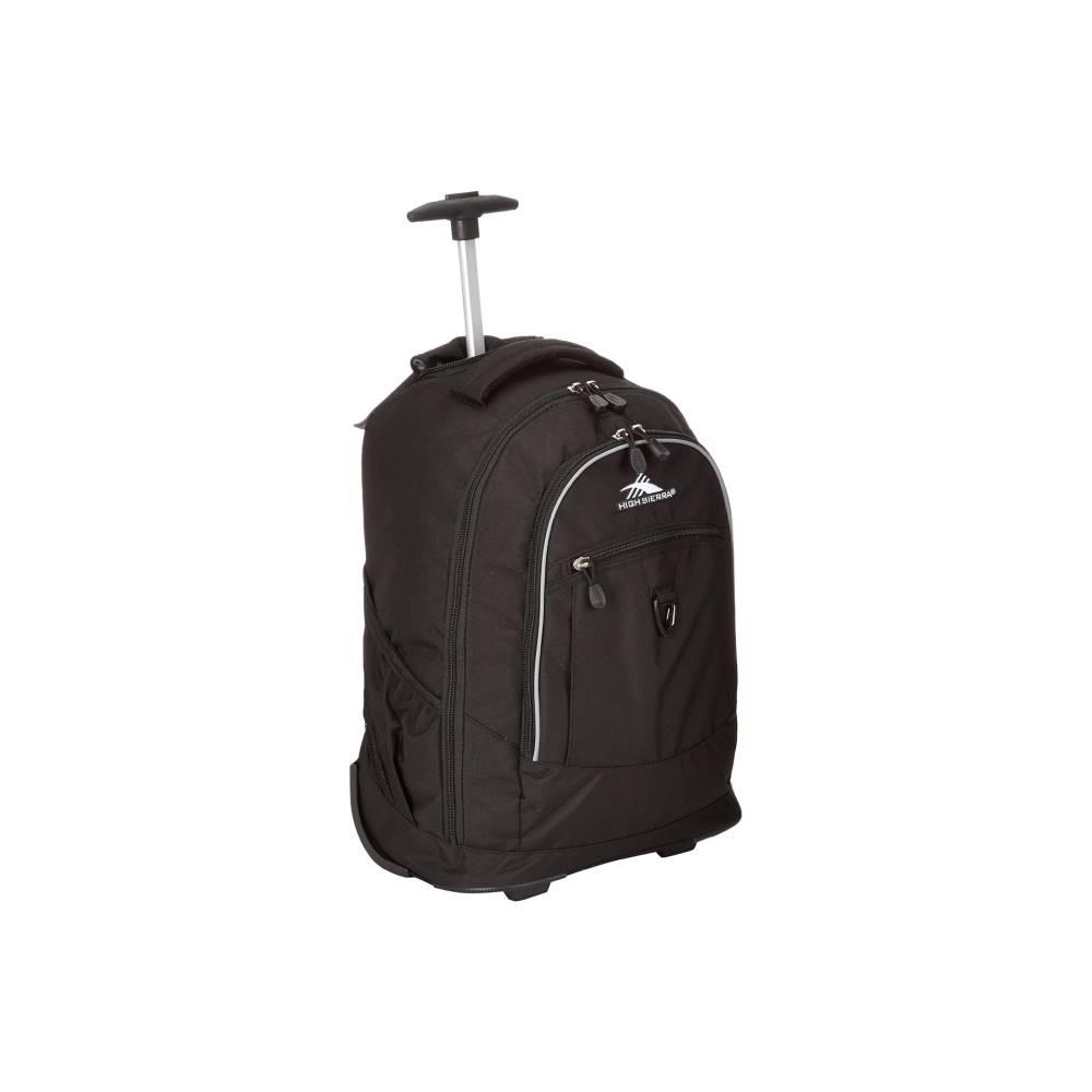 ハイシエラ メンズ バッグ バッグ バックパック Wheeled・リュック ハイシエラ【Chaser Wheeled Backpack】Black, 平塚市:3a68ebce --- lembahbougenville.com