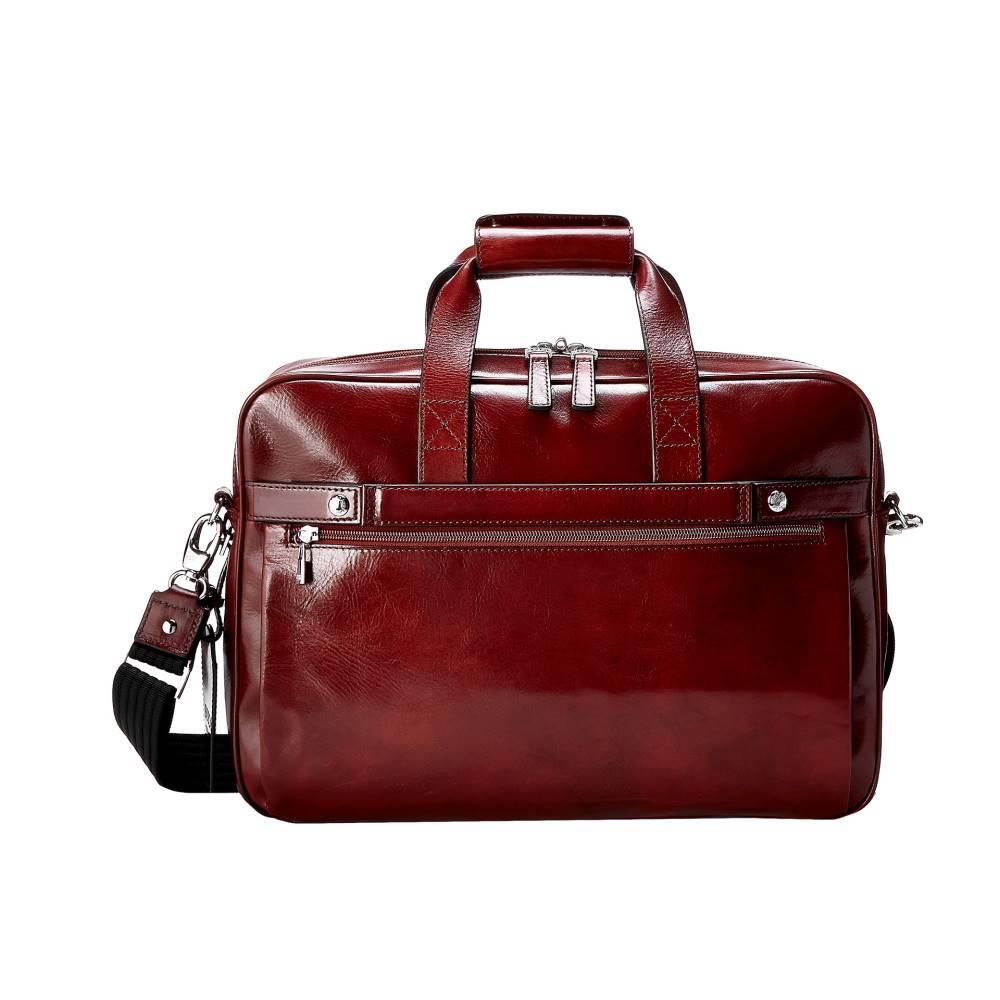 ボスカ メンズ バッグ ビジネスバッグ・ブリーフケース【Single Gusset Stringer Bag】Dark Brown