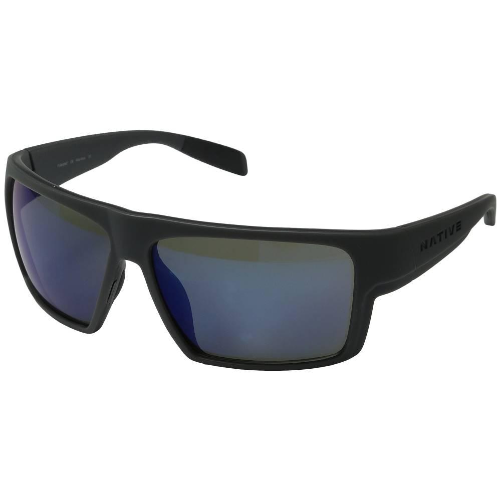 ネイティブアイウェア メンズ ファッション小物 スポーツサングラス【Eldo】Granite/Asphalt/Granite/Blue Reflex
