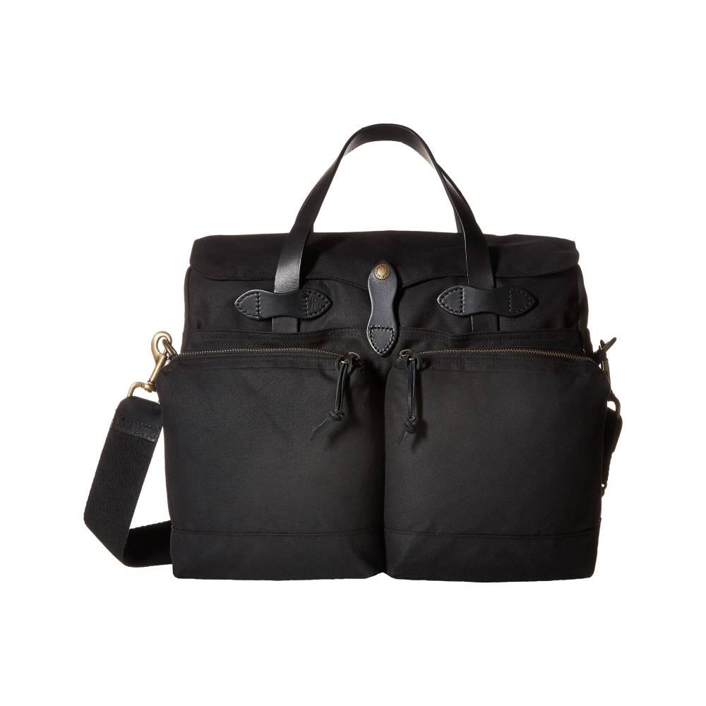フィルソン メンズ バッグ ビジネスバッグ・ブリーフケース【24 Hour Tin Briefcase】Black