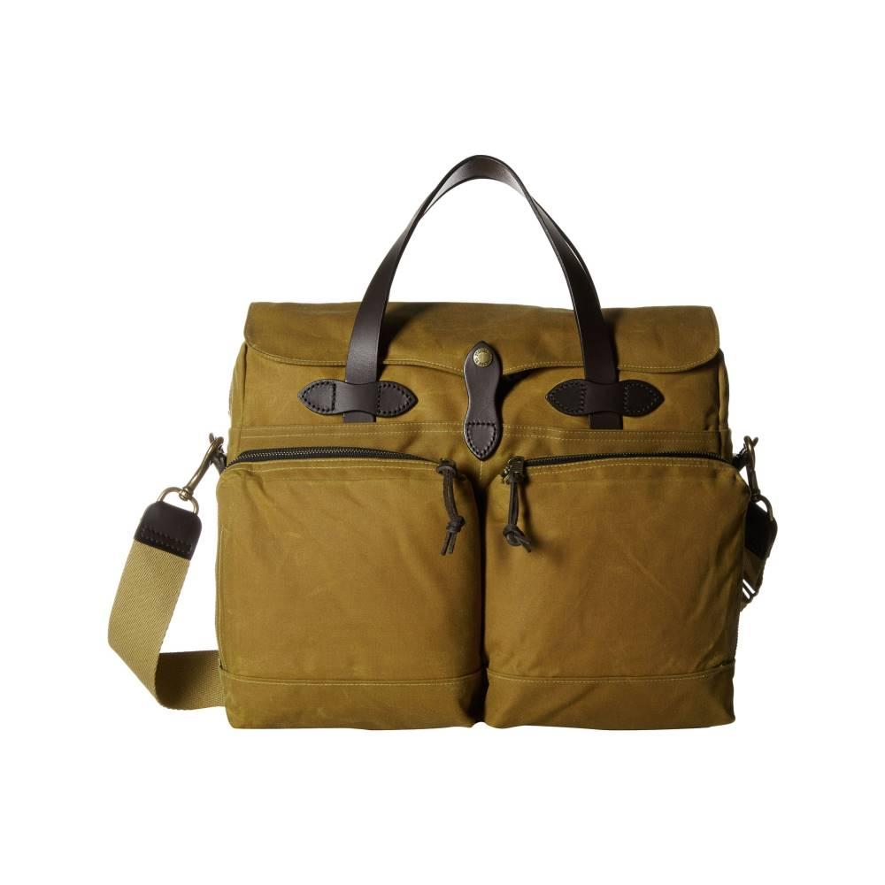 フィルソン メンズ バッグ ビジネスバッグ・ブリーフケース【24 Hour Tin Briefcase】Dark Tan