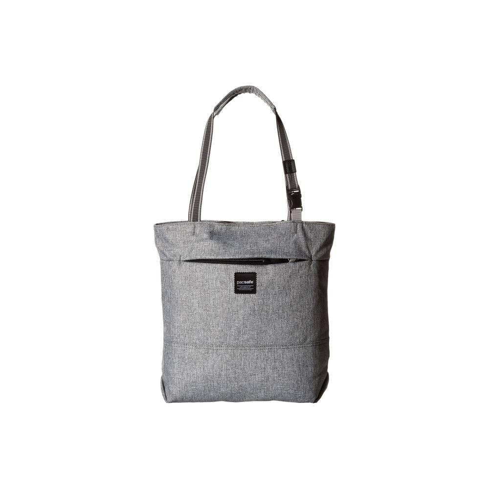 パックセイフ レディース バッグ トートバッグ【Slingsafe LX200 Anti-Theft Compact Tote Bag】Tweed Grey