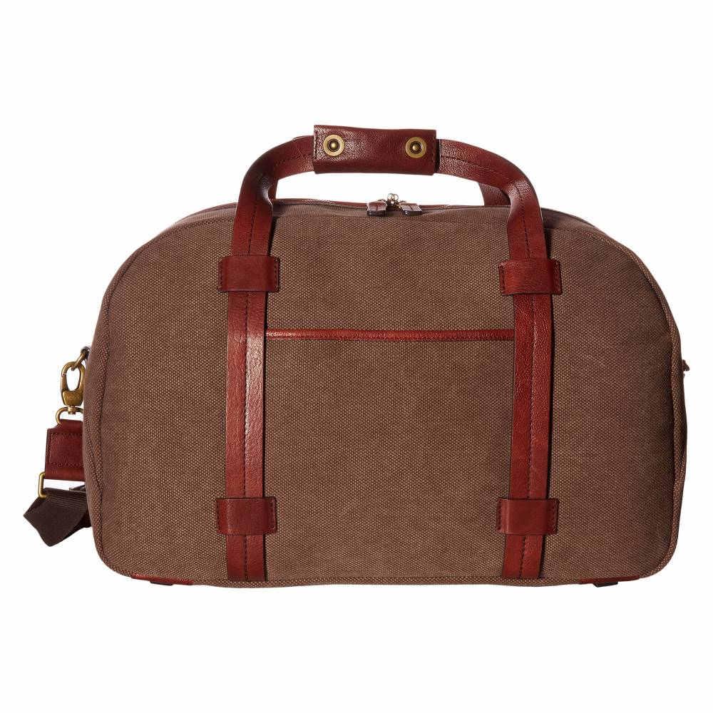 ボスカ メンズ バッグ ボストンバッグ・ダッフルバッグ【Washed Leather Collection - Duffel】Brown/Dark Brown