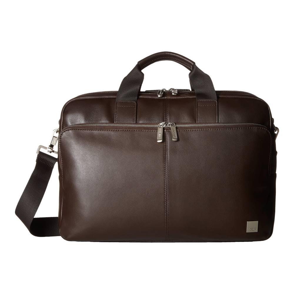 モノ メンズ バッグ ビジネスバッグ・ブリーフケース【Brompton Classic Amesbury Double Zip Briefcase】Brown