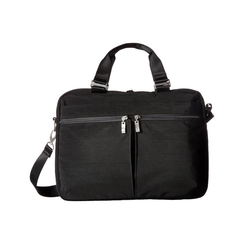 バッガリーニ レディース バッグ パソコンバッグ【Slim Laptop Brief】Black/Charcoal