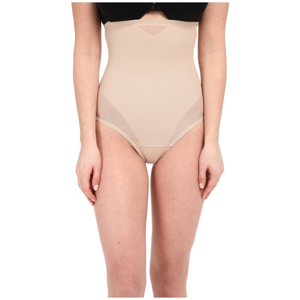 ミラクルスーツ レディース インナー・下着 ショーツのみ【Sheer Extra Firm Shaping High Waist Thong】Nude