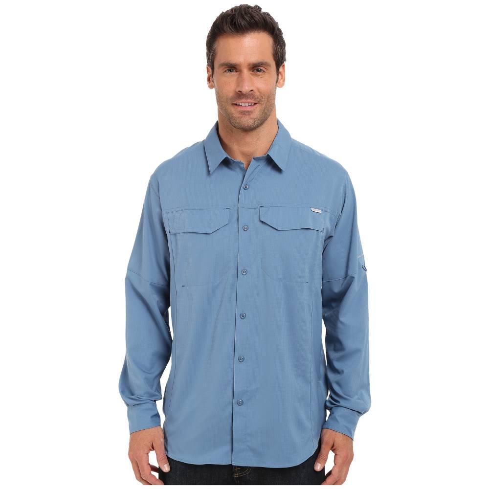 コロンビア メンズ トップス シャツ【Silver Ridge Lite' Long Sleeve Shirt】Steel