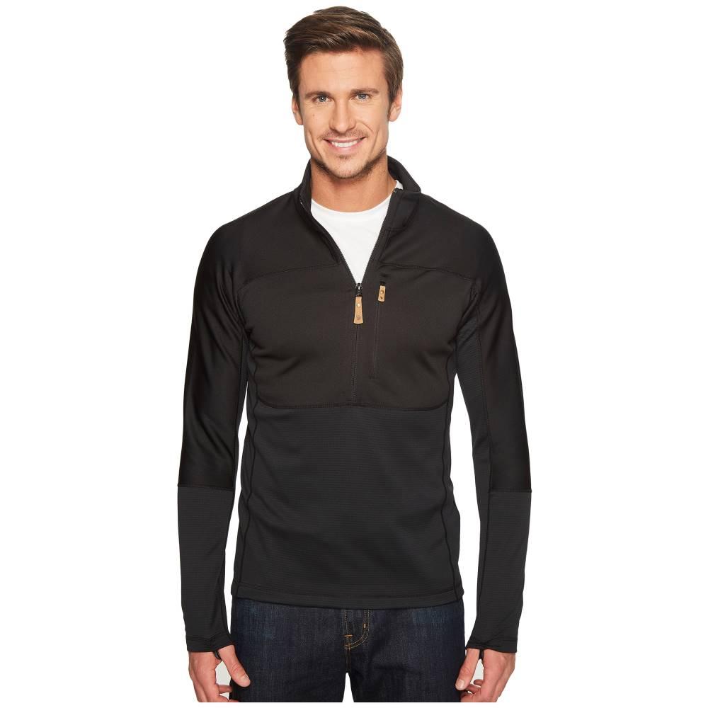 フェールラーベン メンズ トップス Tシャツ【Abisko Trail Pullover】Black