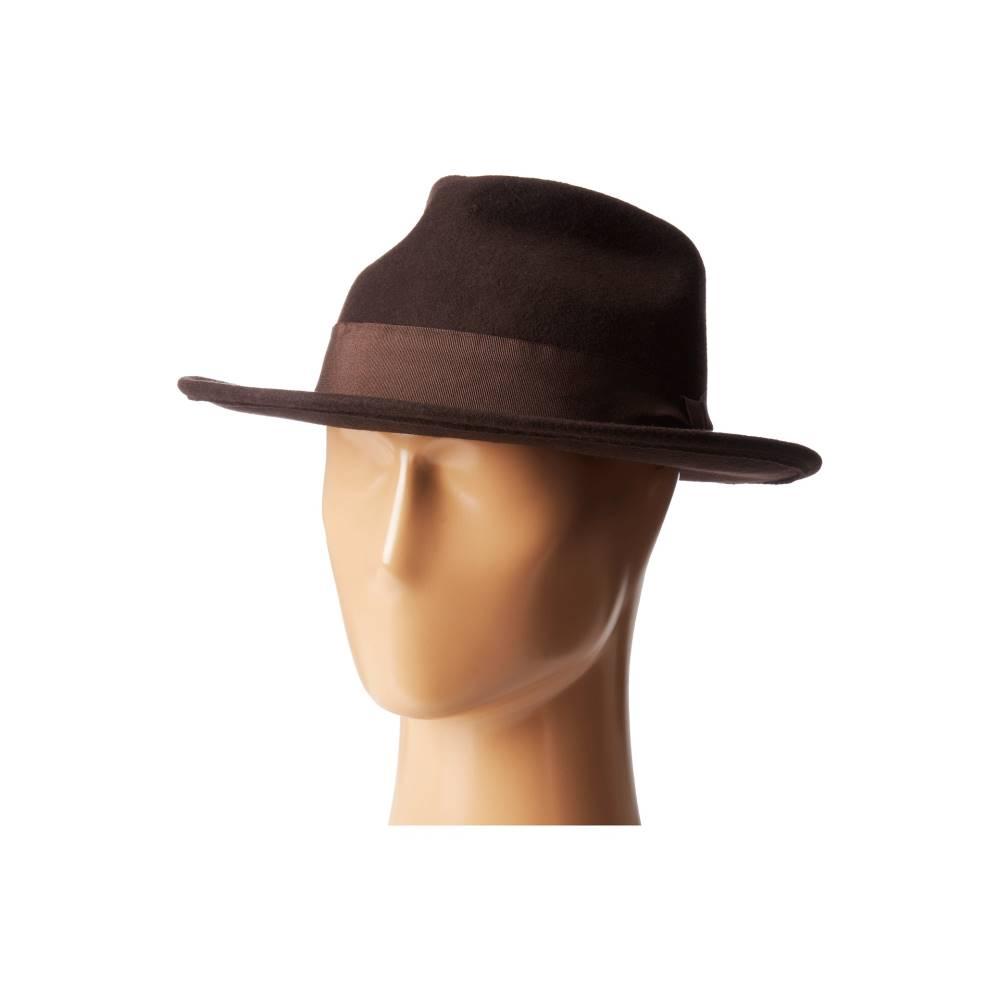 グーリンブラザーズ メンズ 帽子 ハット【The Francis F】Brown