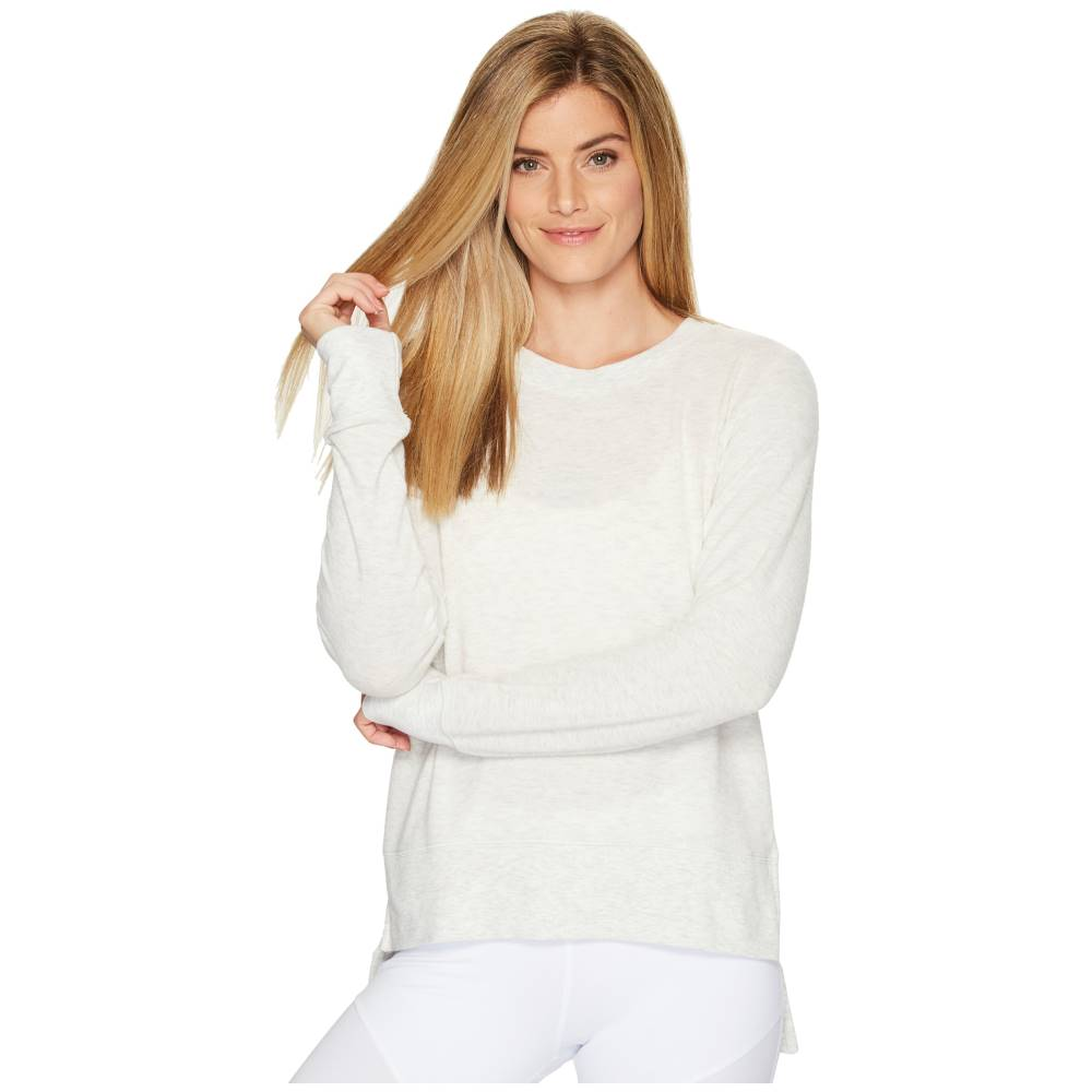 アロー レディース トップス ニット・セーター【Glimpse Long Sleeve Top】White Heather