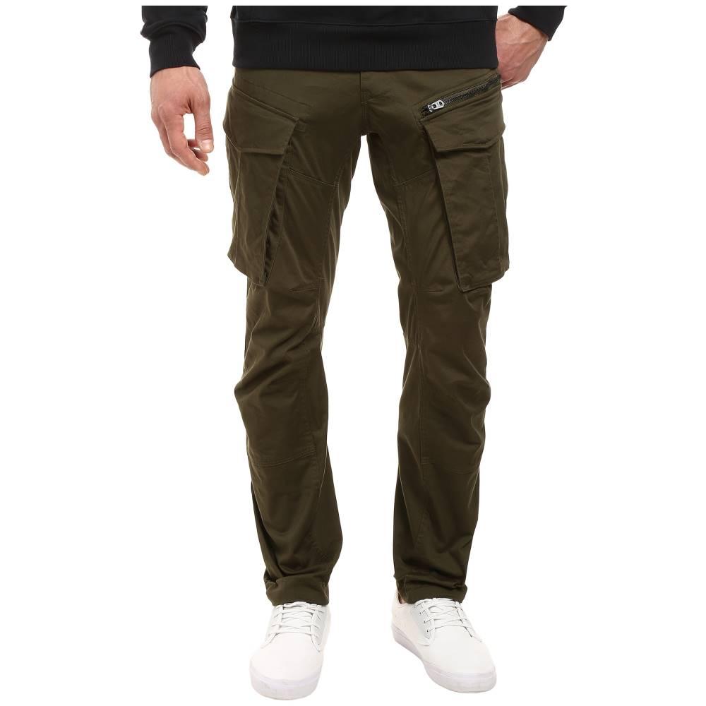 ジースター メンズ ボトムス・パンツ ジーンズ・デニム【Rovic Zip 3D Tapered Jeans in Premium Micro Stretch Twill Dark Bronze Green】Premium Micro Stretch Twill Dark Bronze Green