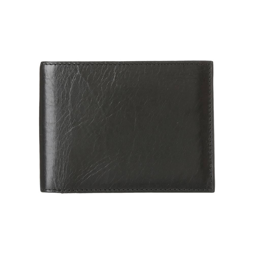 ボスカ メンズ 財布・時計・雑貨 財布【Old Leather Continental I.D. Wallet】Black