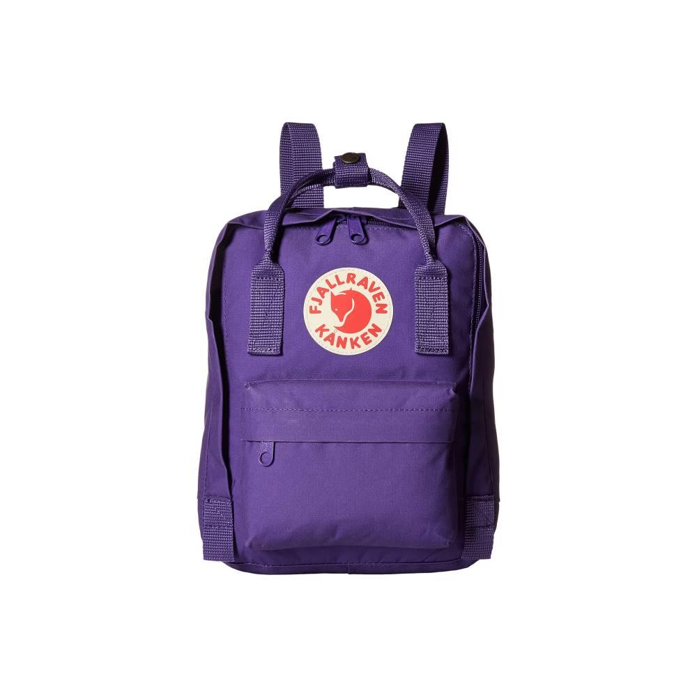フェールラーベン メンズ バッグ バックパック・リュック【Kテ・nken Mini】Purple