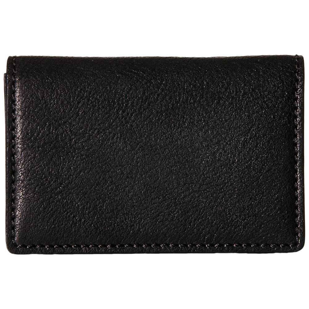 ボスカ メンズ 財布・時計・雑貨 カードケース・名刺入れ【Washed Collection - Full Gusset Card Case】Black