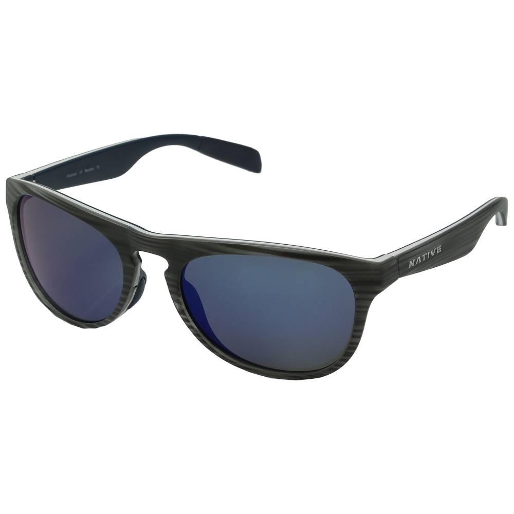 ネイティブアイウェア メンズ ファッション小物 スポーツサングラス【Sanitas】Driftwood/White/Blue/Blue Reflex